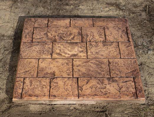 Купить штампы для печатного бетона в интернет магазине недорого купить краску для бетона для наружных работ в новосибирске