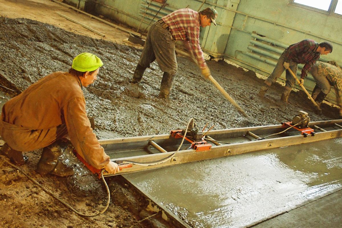 Формовка бетона как сделать затирку цементного раствора