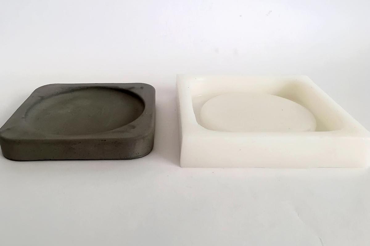 Силиконовые формы для бетона заказать плитки из бетона